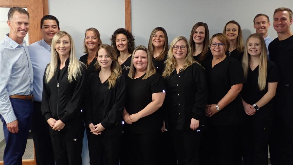 Anderson Dental team photo | Champaign IL Dentist Office