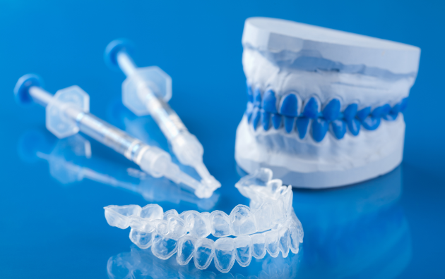 Dental tools for professional teeth whitening in Champaign IL